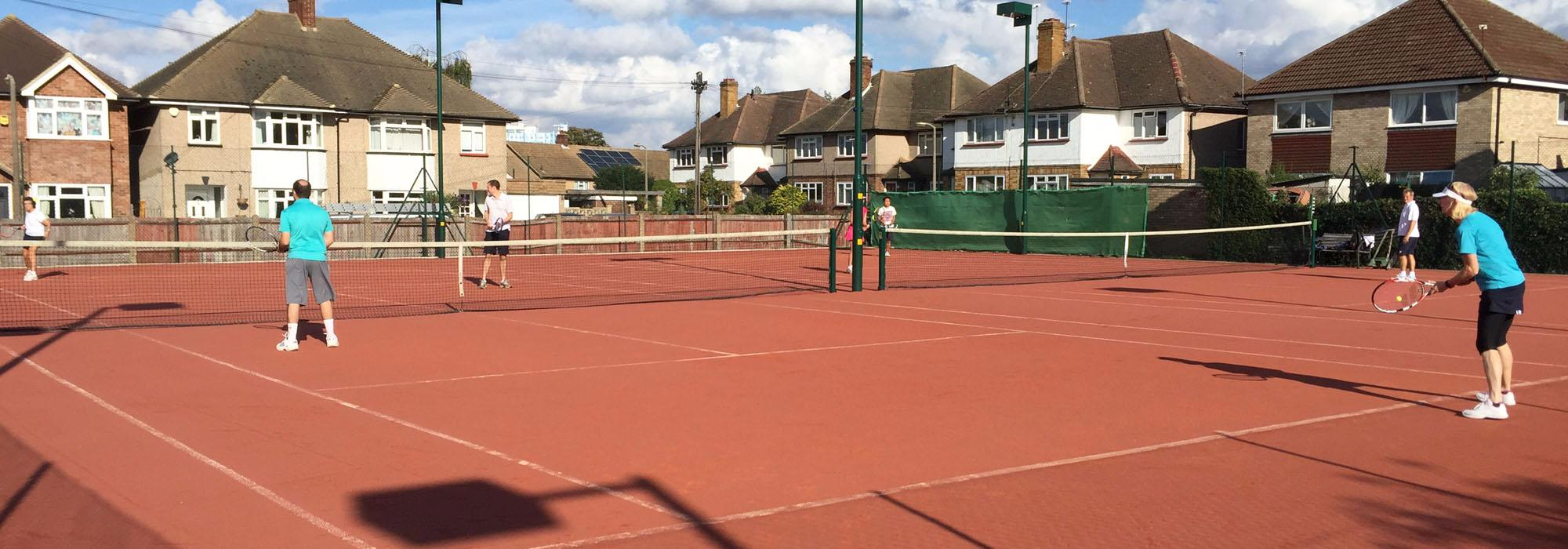 Courts 1 & 2 - Floodlit Artificial Clay
